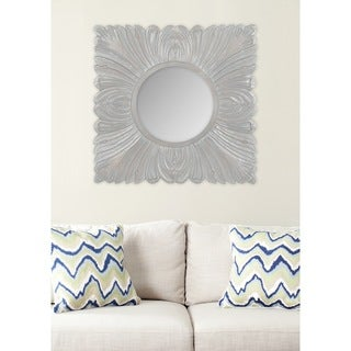Safavieh Acanthus Grey Mirror