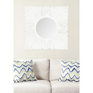 Safavieh Acanthus White Mirror