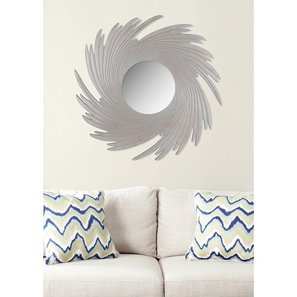 Safavieh Nouveau Wave Grey Mirror