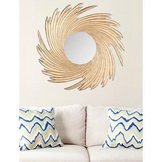 Safavieh Nouveau Wave Gold Mirror