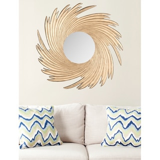 Safavieh Nouveau Wave Gold Mirror