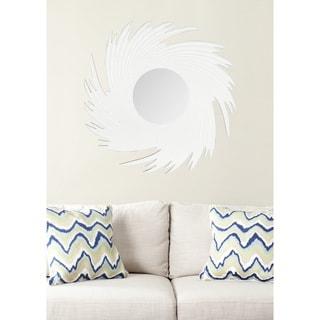 Safavieh Nouveau Wave White Mirror