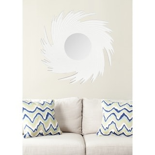 Safavieh Nouveau Wave White Mirror