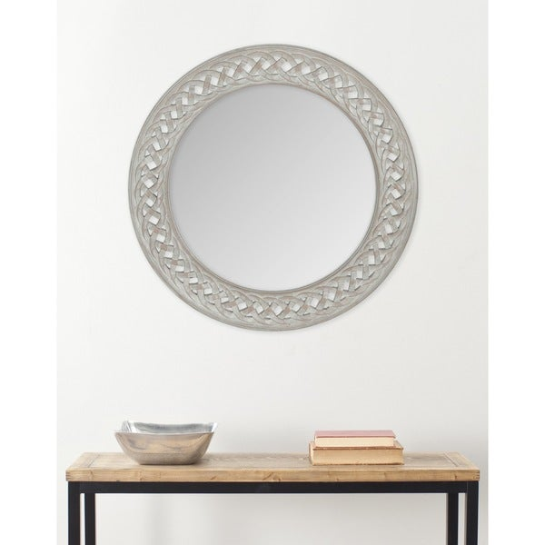 Safavieh Braided Chain Grey Mirror
