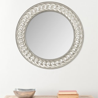Safavieh Braided Chain Pewter Mirror