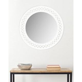 Safavieh Braided Chain White Mirror