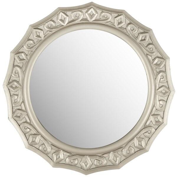 Safavieh Gossamer Lace Pewter Mirror