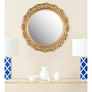 Safavieh Gossamer Lace Gold Mirror