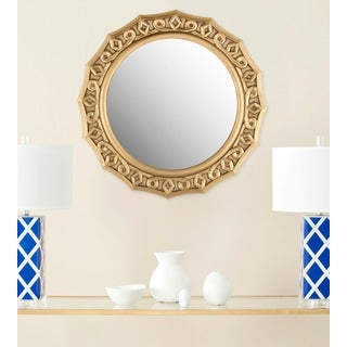 Safavieh Gossamer Lace Gold Mirror