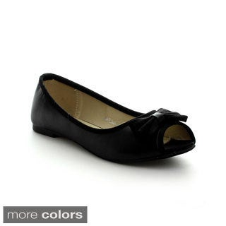 I Heart Collection Karina-05 Women's Casual Peep-toe Flats