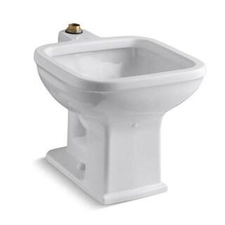 Kohler Tyrrell Floor-mount White Service Sink