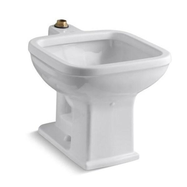 Floor Mount Utility Sink : Kohler Tyrrell Floor-mount White Service Sink - 16190384 - Overstock ...