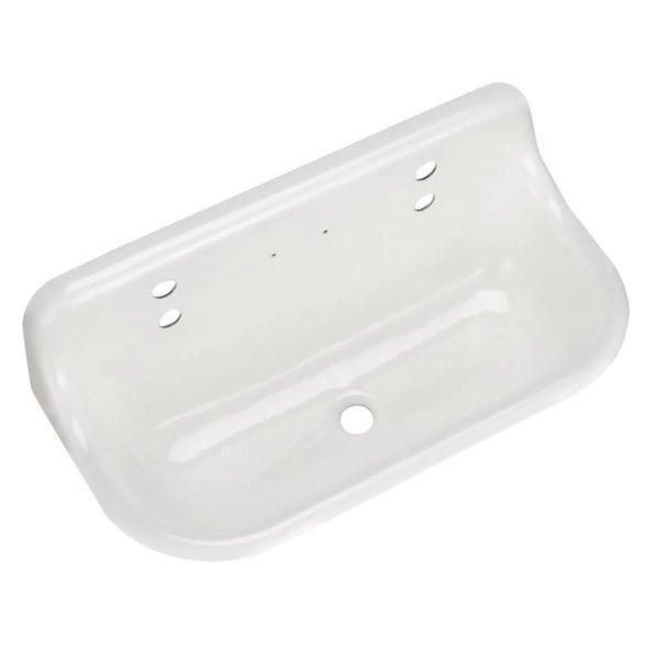 Brockway Sink Kohler : Kohler Brockway White Cast-iron Wall-mount Wash Sink - 16190397 ...