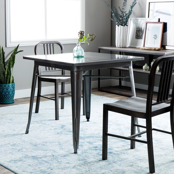 Tabouret Gunmetal Dining Table 16190405 Overstock Com