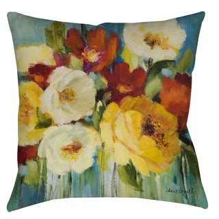 Flower Power Decorative Pillow