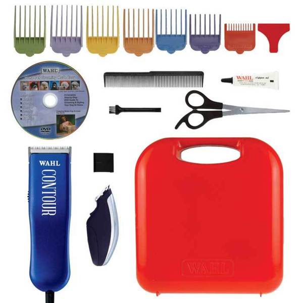Wahl 17-piece Pet Grooming Contour Rotary Motor Clipper Set