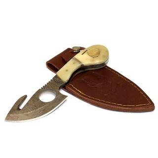 Bone Edge 7-inch Bone Handle Hunting Skinner Knife