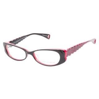 Betsey Johnson Harajuku Flower Raven Prescription Eyeglasses