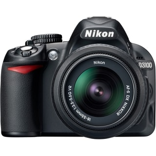 Nikon D3100 14.2 Megapixel Digital SLR Camera (Body with Lens Kit) -