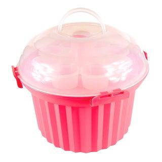 Fox Run Brands 24 Cupcake Pink Carousel