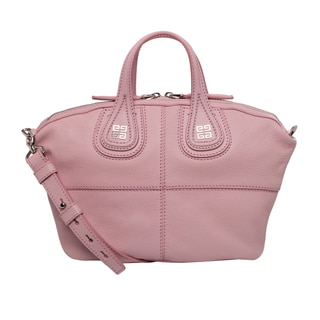 Givenchy 'Micro Nightingale' Pale Pink Goatskin Leather Satchel