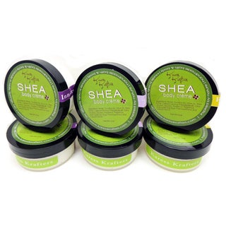 Shea 3-ounce Body Creme with Oat Flour and Panthenol