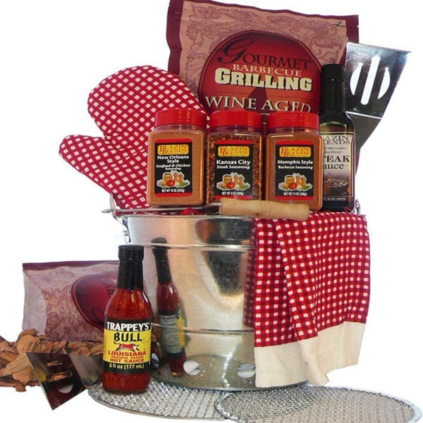 Billy Joes Grilling on the Go Barbeque Gift Basket 12843993