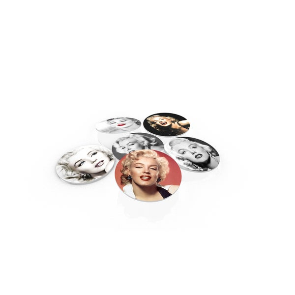 Marilyn Monroe Glass Coaster (Set of 6)