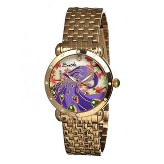 Bertha Women's Didi Multi Metal Goldtone Analog Watch