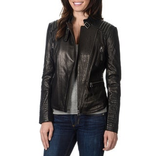 Bernardo Women's Zipper Embellished Jacket