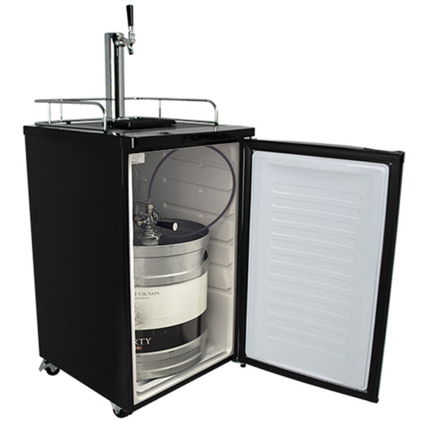 EdgeStar Wine on Tap System Keg Black Dispenser