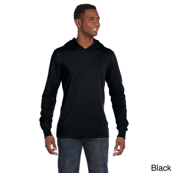 Canvas Men's Long Sleeve Jersey Hoodie 12844873