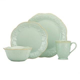 Lenox Ice Blue French Perle 4-piece Dinnerware Set