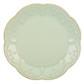 Lenox French Perle Ice Blue Accent Plate
