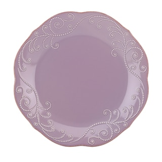 Lenox Violet French Perle Dinner Plate