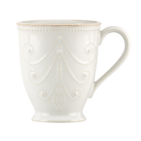 Lenox White French Perle Mug