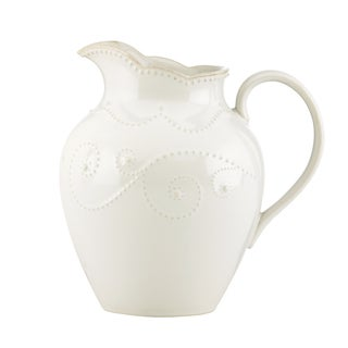 Lenox 'French Perle' White Pitcher