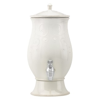 Lenox 'French Perle' White Cold Beverage Dispenser
