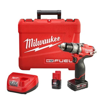 Milwaukee M12 Fuel 12-volt Brushless 1/2-inch Hammer Drill and Driver Kit