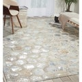 Nourison Michael Amimi City Chic Snow Leather Rug (8 x 10)