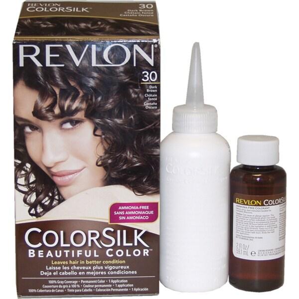 Revlon ColorSilk Beautiful Color #30 Dark Brown Hair Color