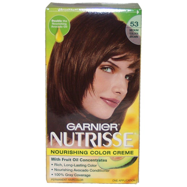 Nutrisse Nourishing Color Creme #53 Medium Golden Brown Hair Color
