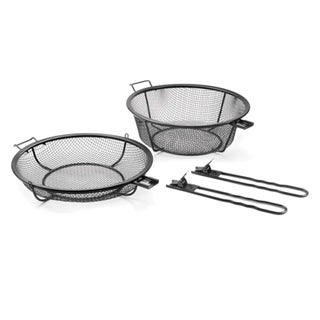 Non-stick Chef's Jumbo Outdoor Grill Basket and Skillet
