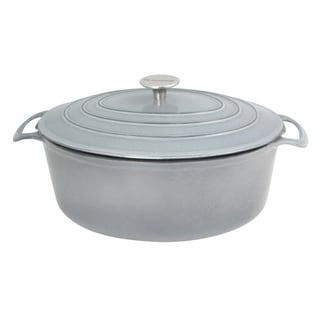 Le Cuistot Vieille France Enameled Cast-iron Round Casserole
