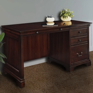 Mulberry 54-inch Single Pedestal Desk