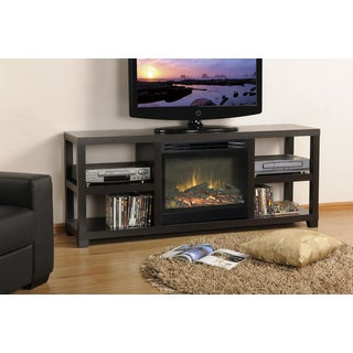 Espresso 64-inch Media 23-inch Firebox Electric Fireplace