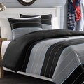 Nautica Danbury Stripe Cotton 3-piece Duvet Cover Set