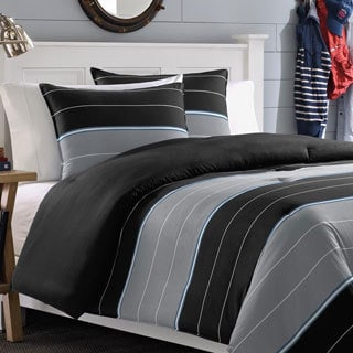 Nautica Danbury Stripe Cotton 3-piece Comforter Set