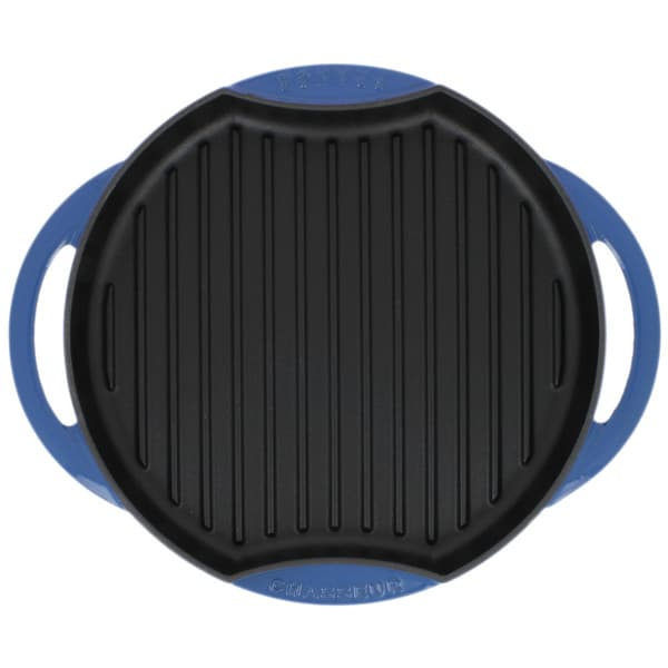Chasseur French Enamelled Cast Iron Blue Sun Grill