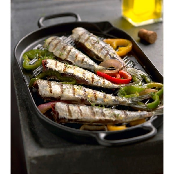 Chasseur Black Oval French Cast Iron Grill